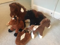 Webkin plush horse and other plush horses  Potomac Falls, 20165