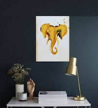 Elephant Painting\ Home decor