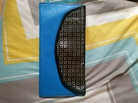 All leather purse