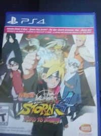 Sony PS4 Naruto Shippuden Ultimate Ninja Storm 4 Road to Boruto case Easton, 21601