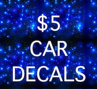 4 inch car decals North Las Vegas, 89031