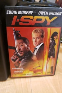 I-SPY movie DvD