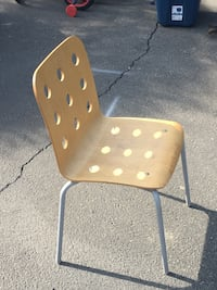 brown and gray metal chair Los Angeles, 91405
