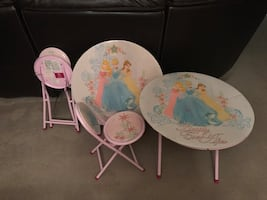 Princess Table with Chairs