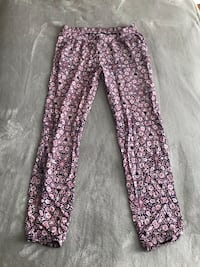 Women's black and white floral pants Falls Church, 22042
