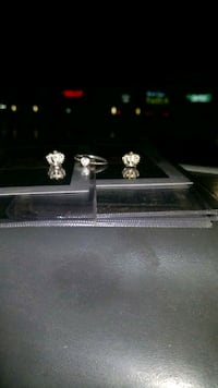 Matching Pandora diamond ring and earings Oshawa, L1H 8L7