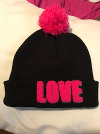 black and pink knit cap Stockton, 95205