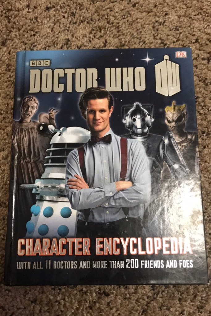 Photo Doctor who book