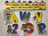 """Laminated """"child friendly"""" alphabet bulletin set. All alphabet letters included  Whitchurch-Stouffville, L4A"""