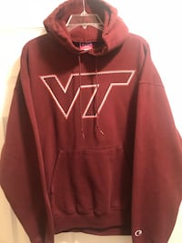 Mens College Sweatshirt - Virginia Tech 602 mi