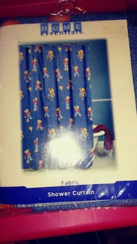Blue Jean Teddy Bear Fabric Shower Curtain Bakersfield, 93308