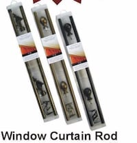 """Brand new window 28""""-48"""" curtain rods for $12.00 only Orillia"""