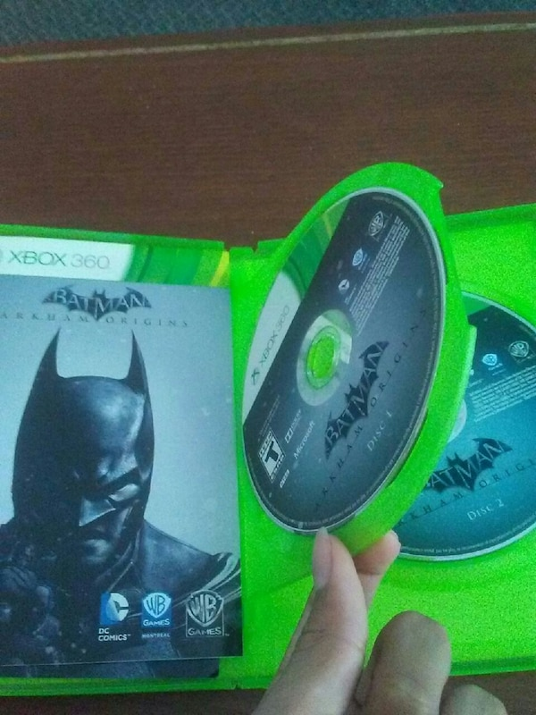 Batman Xbox 360 games