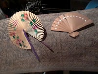 Handmade hand-painted fans Ringgold, 30736
