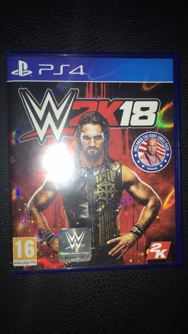 WWE2K18 PS4 Game