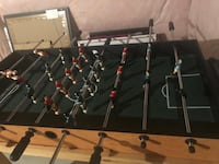 black and gray foosball table Mississauga, L5W 0E8