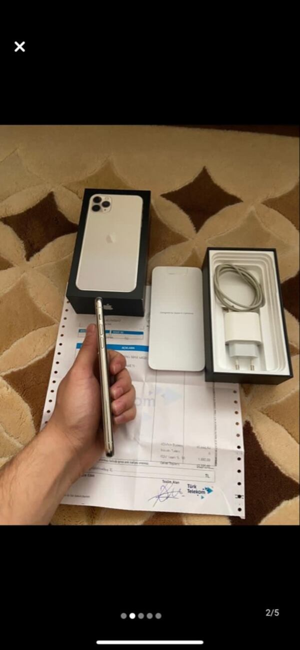 Iphone 11 pro max 256 gb d6da98c6-6b31-40cc-8d60-d377a533a340