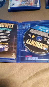 MLB The show 17 PS4.