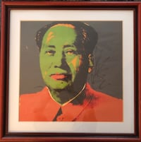Mao Zedong framed portrait Washington, 20009