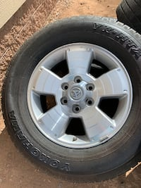 Toyota 6 Lug Rims & Tires