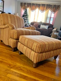 Thomasville Accent chair & Ottoman