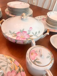 Antique Noritake China Burke, 22015