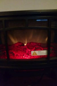 black and red electric fireplace Greenbelt, 20770