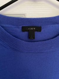 J. Crew Cashmere Sweater in Royal Blue Port Jefferson Station, 11776