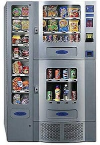 Office deli Vending Machine with bill acceptor Edmonton, T6K 3N3