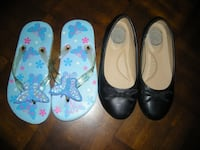 GRAMMY'S CLEAN OUT: Girl's size 13 shoes & sandals  Aspers