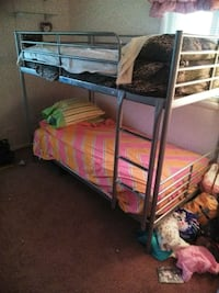 Bunk beds with mattresses very sturdy