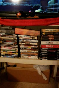 assorted DVD movie case lot Laurel, 20707