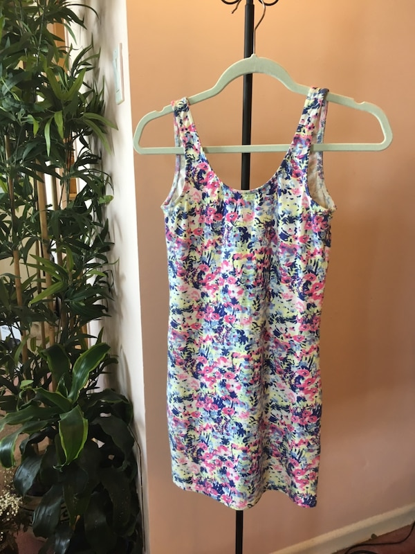 h and m size 6 fitted dress low back 1