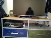 TV Stand Metal/Wood Pre-owned