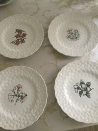 Set of Canadian provincial flower plates Innisfil, L9S 0A5