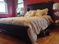 New Cherry King Bed Silver Spring