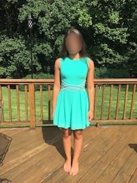 Teal Dress, worn once. Frederick, 21704