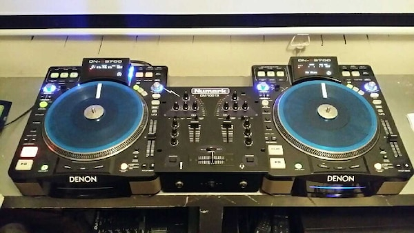 used dj equipment 2 denon 3700 cdj turntables for sale in laurel letgo. Black Bedroom Furniture Sets. Home Design Ideas