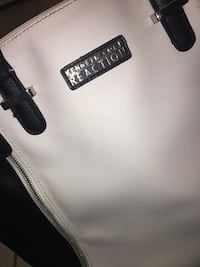 Brand: Kenneth Cole - black and white tote bag. Toronto, M5G