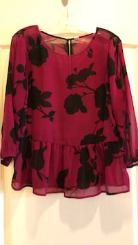 Beautiful Peplum Blouse - medium  Vaughan, L4J 0A5