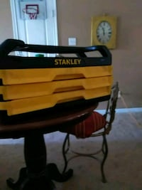 yellow and black Stanley tool box Crosby, 77532