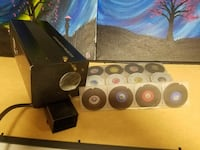 Projector with disks