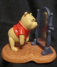 "Retired Disney ""Pooh and Friends"" Porcelain Figurine  ""Your ups downs looking up"" Manassas, 20112"