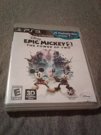 Epic mickey 2 ps3 game