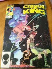 CONAN THE KING COMIC BOOK  Brownsville, N0L 1C0