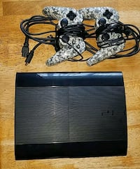 black Sony PS3 super slim console with controller Vine Grove, 40175