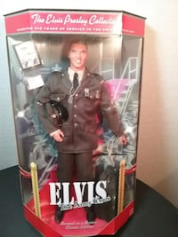 "1999 Mattell Elvis ""The Army Years"" Doll Falling Waters, 25419"