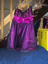 *Negotiable* Purple tutu homecoming dress. Size 3 wore once Mansfield, 44907