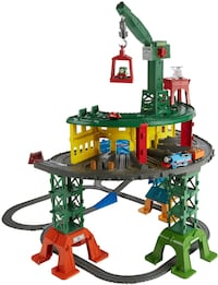 Fisher-Price Thomas & Friends Super Station Playset Train TORONTO