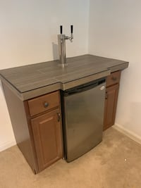 Kegerator with attached cabinet Centreville, 20120